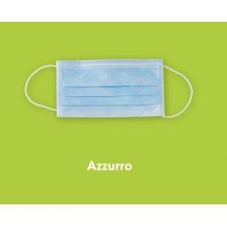 CONFEZIONE MASCHERINE PROTECTION 3 50PZ - AZZURRE