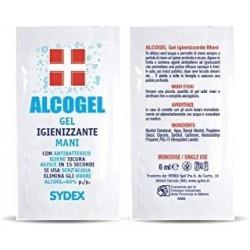 Gel Igienizzante bustine monodose 6ml Confezione 500pz