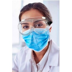 Maschera protezione totale trasparente