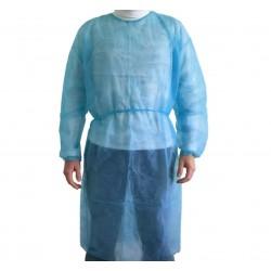 camici monouso in TNT 38gr. azzurro (confezione 10pz)